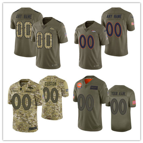 Youth Custom Limited Salute to Service Olive, Camo