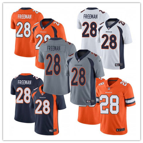 Youth Royce Freeman Vapor Limited Orange, White, Navy, Rush, Grey