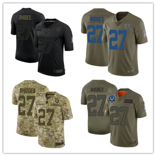 Men Xavier Rhodes Limited Salute to Service Olive, Camo, Black
