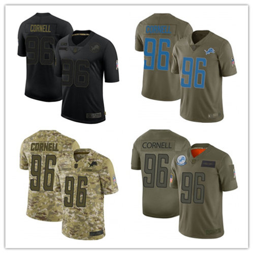 Youth Jashon Cornell Limited Salute to Service Olive, Camo, Black