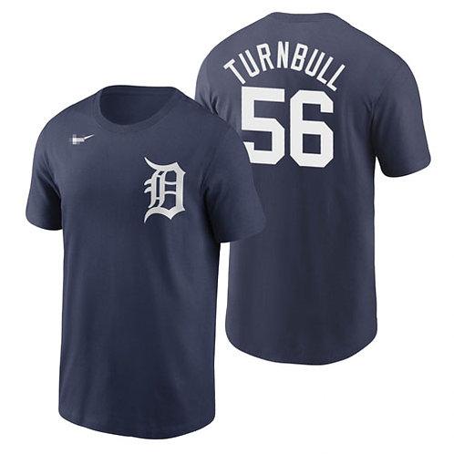 Men Spencer Turnbull T-Shirt Navy Blue