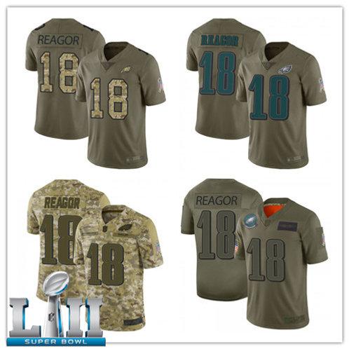 Men Jalen Reagor Limited Salute to Service Camo, Olive