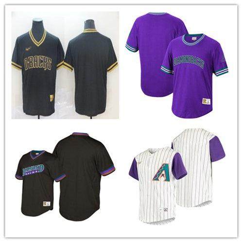 Men Blank Cooperstown White, Purple, Black