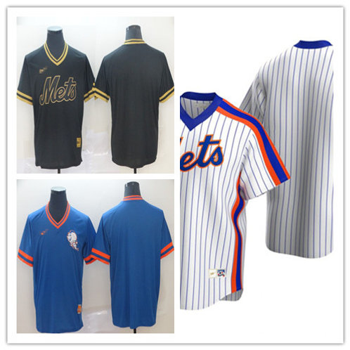 Men Blank Cooperstown White, Black, Royal