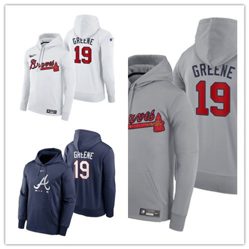 Men Shane Greene Pullover Hoodie White, Gray, Navy Blue