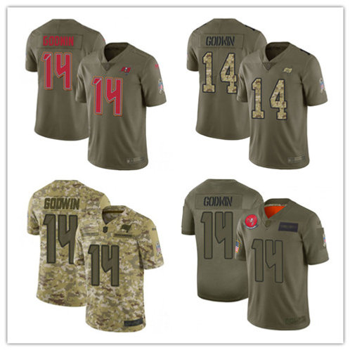 Youth Chris Godwin Limited Salute to Service Olive, Camo