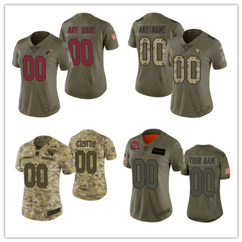 Women Custom Limited Salute to Service Olive, Camo