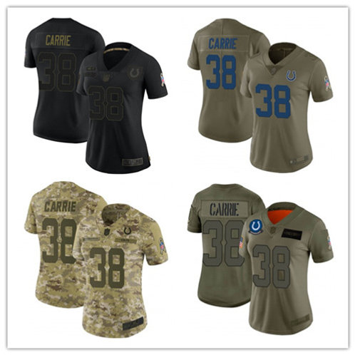 Women T.J. Carrie Limited Salute to Service Olive, Camo, Black