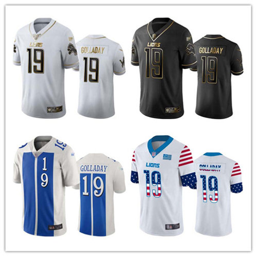 Men Kenny Golladay Limited Golden, City Edition, Independence Day, Impact
