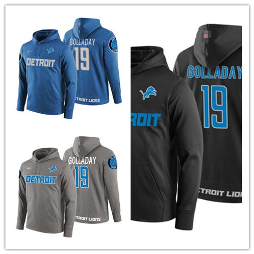 Men Kenny Golladay Hoodie Blue, Black, Gray
