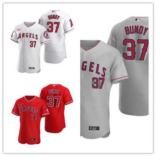 Men Dylan Bundy 2020/21 Authentic White, Gray, Red
