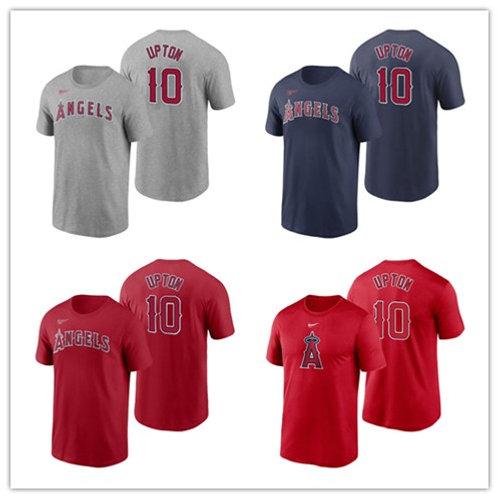 Men Justin Upton T-Shirt Gray, Red, Navy Blue