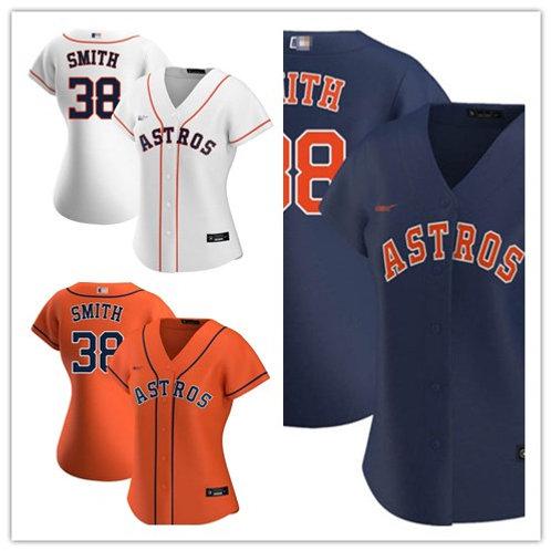 Women Joe Smith 2020/21 Replica White, Orange, Navy Blue