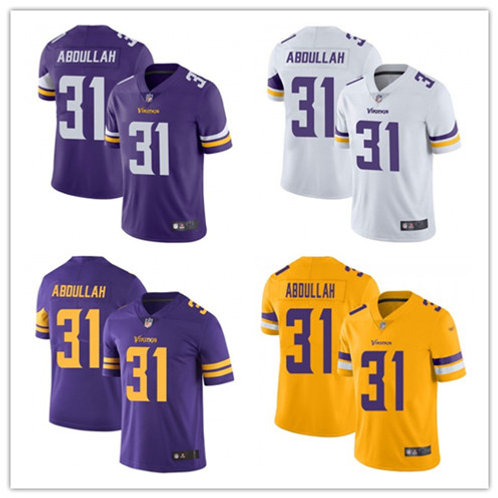 Men Ameer Abdullah Vapor Limited Purple, White, Color Rush, Gold