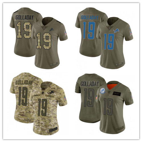 Women Kenny Golladay Limited Salute to Service Olive, Camo