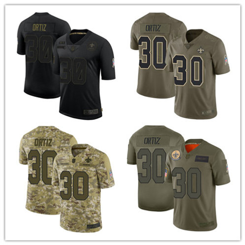 Youth Ricky Ortiz Limited Salute to Service Olive, Camo, Black