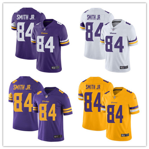 Youth Irv Smith Jr. Vapor Limited Purple, White, Color Rush, Gold