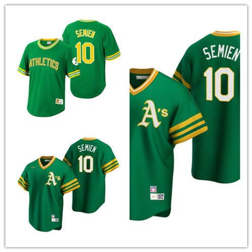 Men Marcus Semien Cooperstown Green