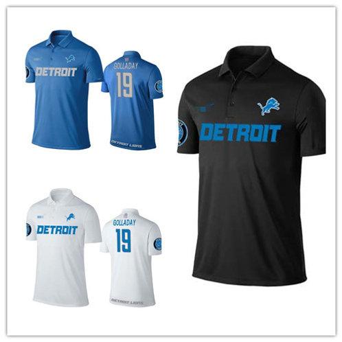 Men Kenny Golladay Shirt Polo Blue, White, Black