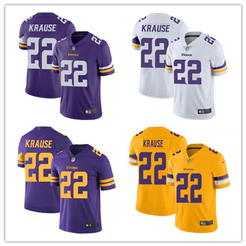 Youth Paul Krause Vapor Limited Purple, White, Color Rush, Gold