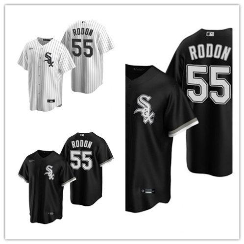 Men Carlos Rodon 2020/21 Replica White, Black