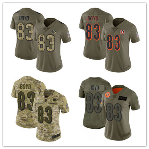 Women Tyler Boyd Limited Salute to Service Camo, Olive