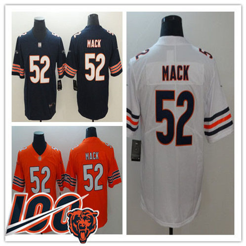 Men Khalil Mack Vapor Limited Navy, White, Orange