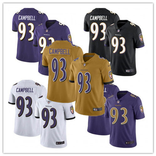 Men Calais Campbell Vapor Limited Purple, White, Black, Rush, Gold