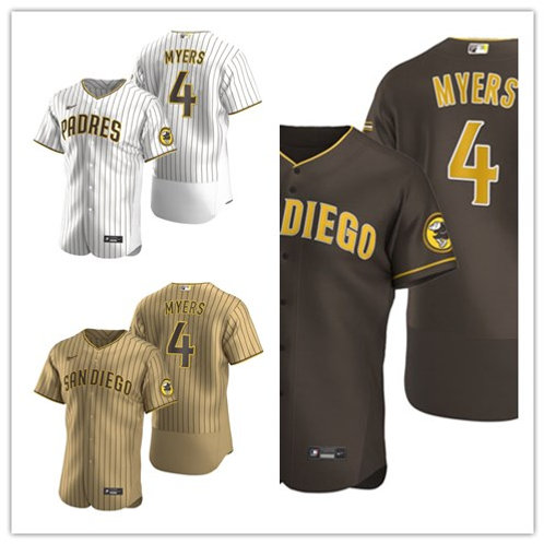 Men Wil Myers 2020/21 Authentic White/Brown, Brown, Tan/Brown