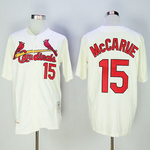 Men Tim McCarver Throwback Cream