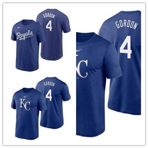 Men Alex Gordon T-Shirt Royal Blue