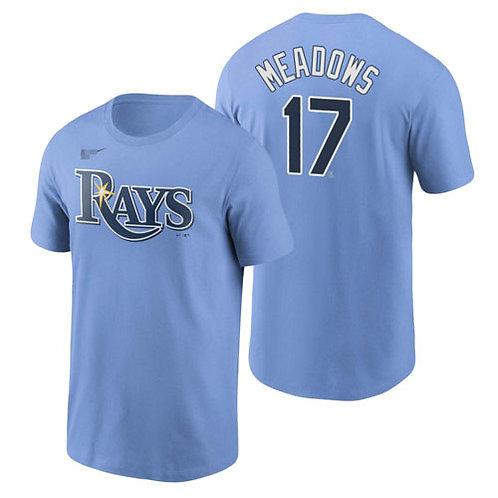 Men Austin Meadows T-Shirt Light Blue
