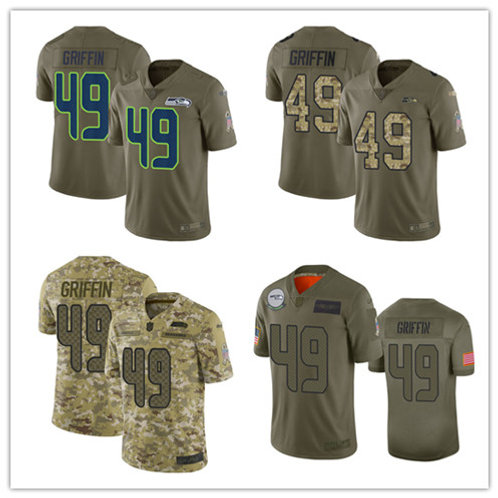 Men Shaquem Griffin Limited Salute to Service Olive, Camo