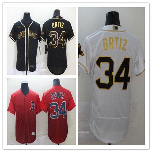 Men David Ortiz White Golden, Black Golden, Drift Fashion