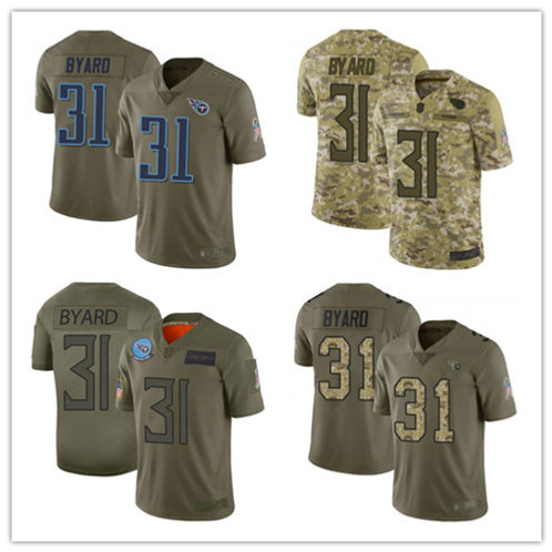 Men Kevin Byard Limited Salute to Service Olive, Camo