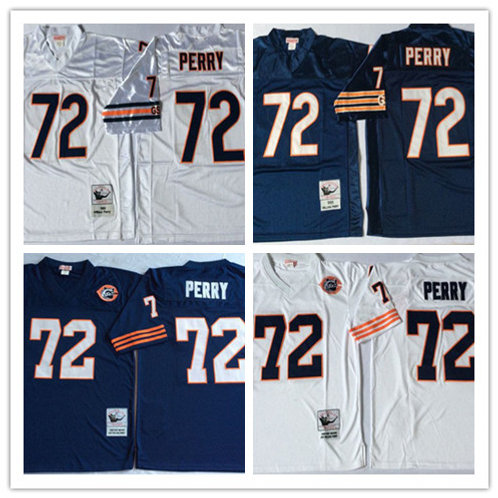 Men William Perry Throwback Navy Blue, White