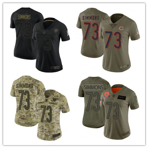 Women Lachavious Simmons Limited Salute to Service Olive, Camo, Black