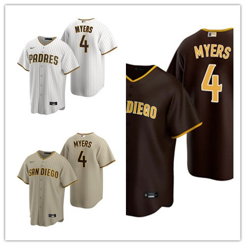 Men Wil Myers 2020/21 Replica White/Brown, Brown, Tan/Brown