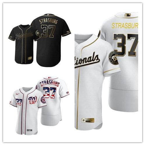 Men Stephen Strasburg Flex Base White Golden, Black Golden, Fashion