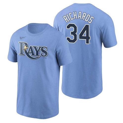 Men Trevor Richards T-Shirt Light Blue