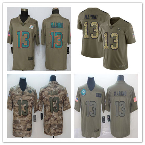 Men Dan Marino Limited Salute to Service Olive, Camo