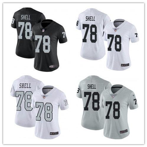 Women Art Shell Vapor Limited Black, White, Color Rush, Silver