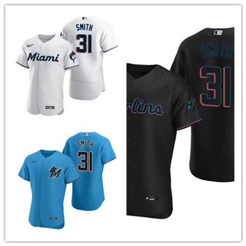 Men Caleb Smith 2020/21 Authentic White, Blue, Black