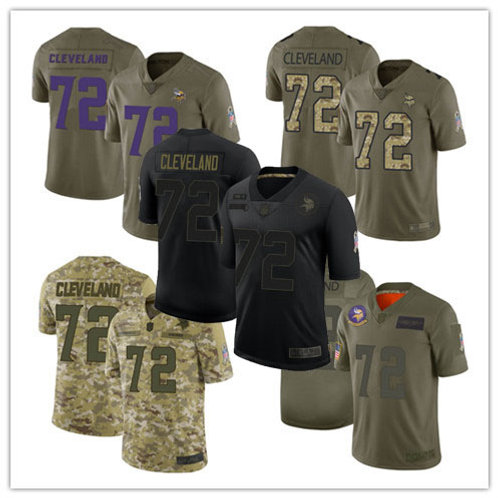 Youth Ezra Cleveland Limited Salute to Service Olive, Camo, Black