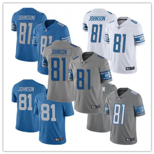 Men Calvin Johnson Vapor Limited Blue, White, Alternate, Rush, Grey