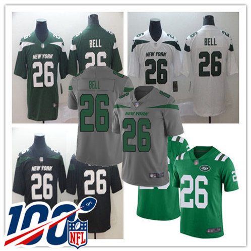 Youth Le'Veon Bell Vapor Limited Green, White, Black, Rush, Gray