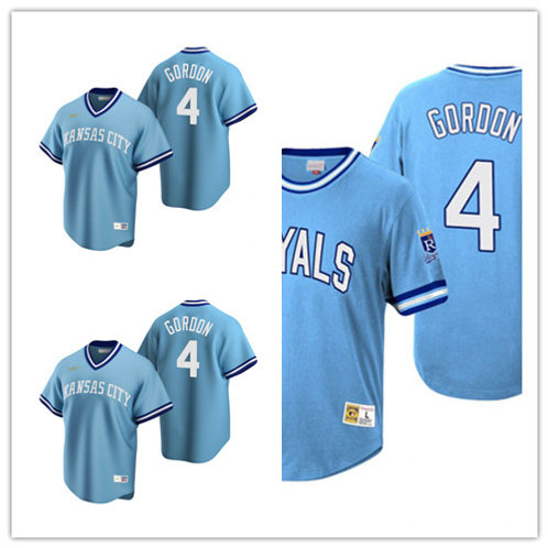 Men Alex Gordon Copperstown Light Blue