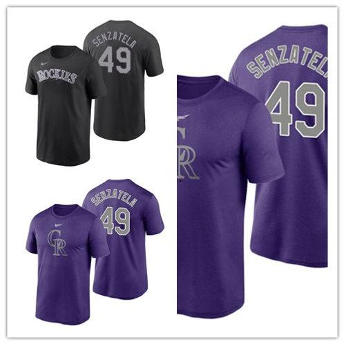 Men Antonio Senzatela T-Shirt Purple, Black