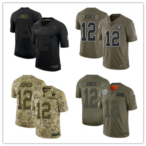 Youth Zay Jones Limited Salute to Service Olive, Camo, Black