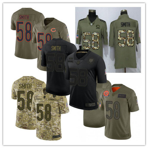 Men Roquan Smith Limited Salute to Service Olive, Camo, Black
